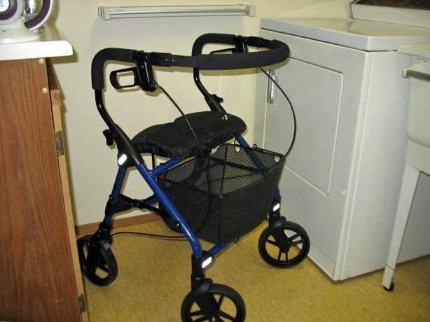 "HOSPITAL GRADE EVOLUTION PIPER TALL 39"" ROLLATOR WALKER FOR SALE"