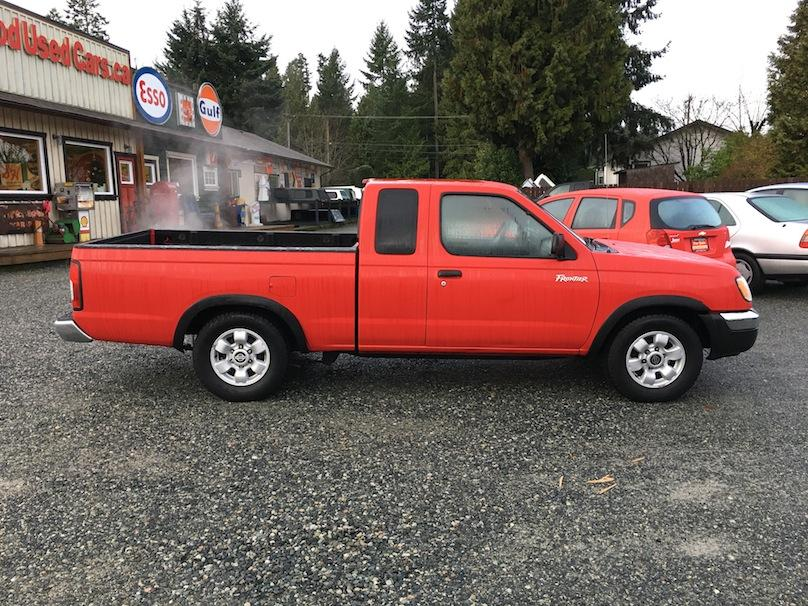 1999 Nissan Frontier Xtra Cab 4 Cyl Manual Trans W Only