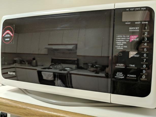 Compact Sanyo Microwave