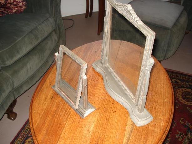 Antique Tilting Frames  (price reduced)