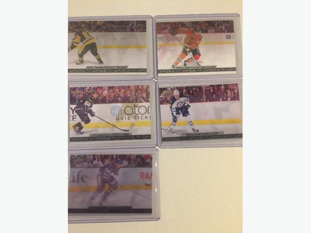 2017-18 Tim Hortons Triple Exposure cards  (only 5 left)
