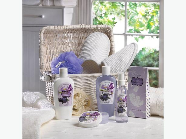 Bath & Body Gift Basket 5 Different Scents Choose Any 4