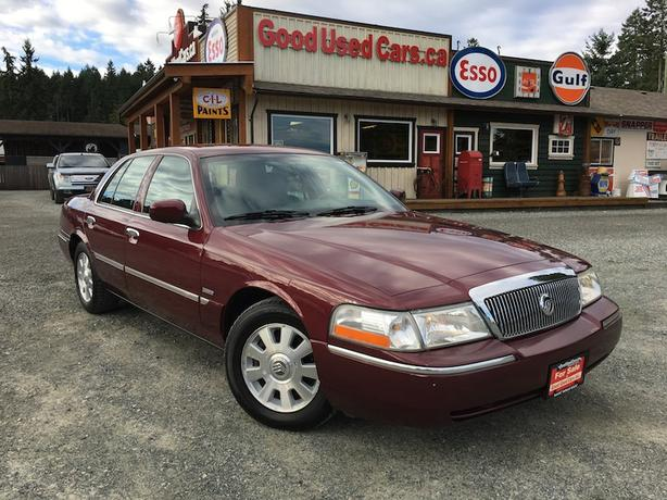 2004 Mercury Grand Marquis Ultimate Edition - A Dream to Drive! Only 149,000 KM