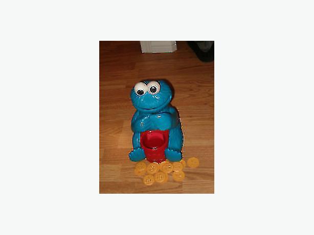 Sesame Street Playskool Count 'N Crunch Cookie