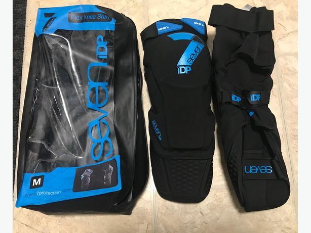 7iDP mountain bike leg armour