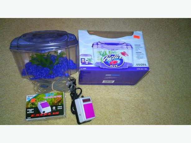 Beta Aquarium w/ air pump