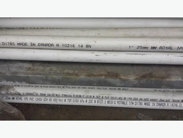 PVC pipes for immediate SALE !!!