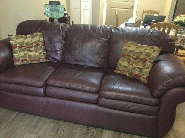 Lazyboy Leather  Couch