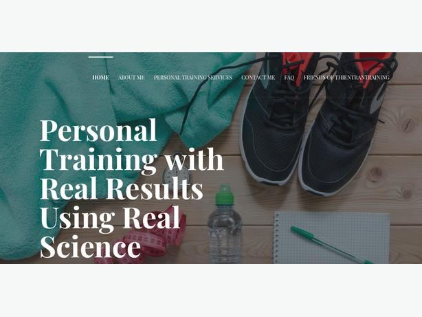 Personal Training Services & Workout Design Programming