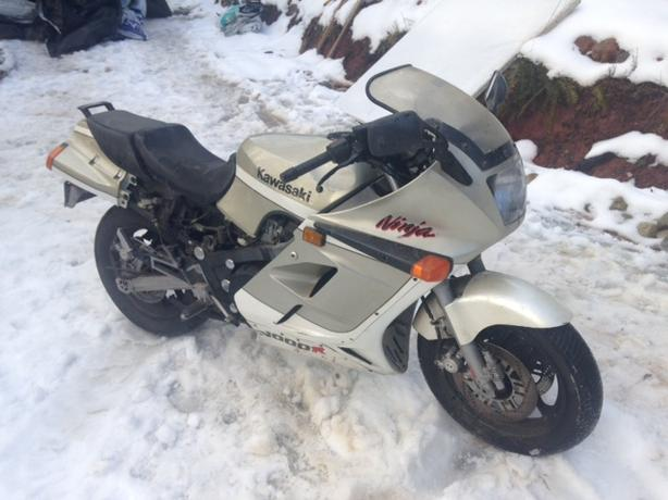 1987 Kawasaki ZX1000 x2 - Identical with ICBC papers