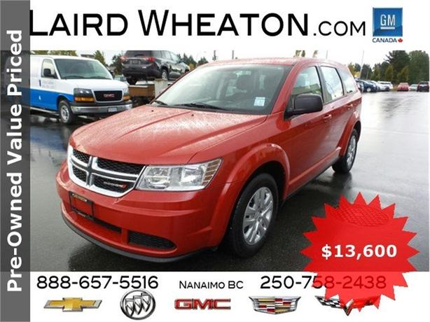 2014 Dodge Journey Clean, Locally Driven