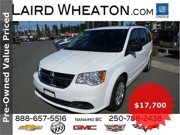 2015 Dodge Grand Caravan SXT Clean Stow N' Go