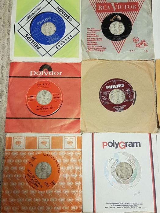 Vintage 45 Vinyl Records West Regina Regina