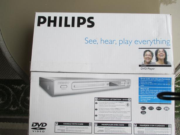 New in box Philips DVD player