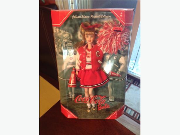 Collectors Coca Cola Barbie