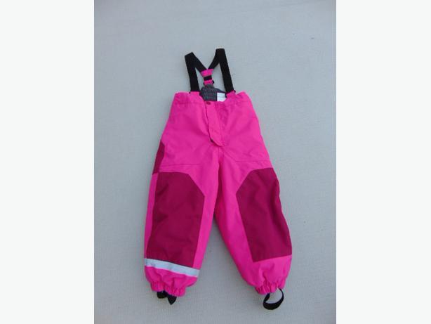 b0e01af2427f Snow Pants Child Size 3-4 H M Sport Pink Black With Straps Excellent ...