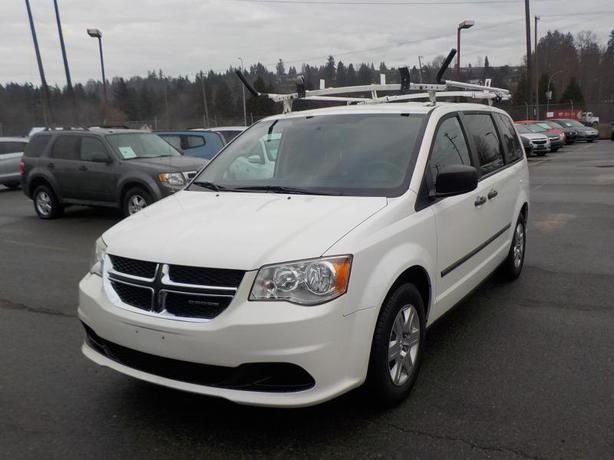2011 Dodge Grand Caravan Cargo Van with Rear shelving