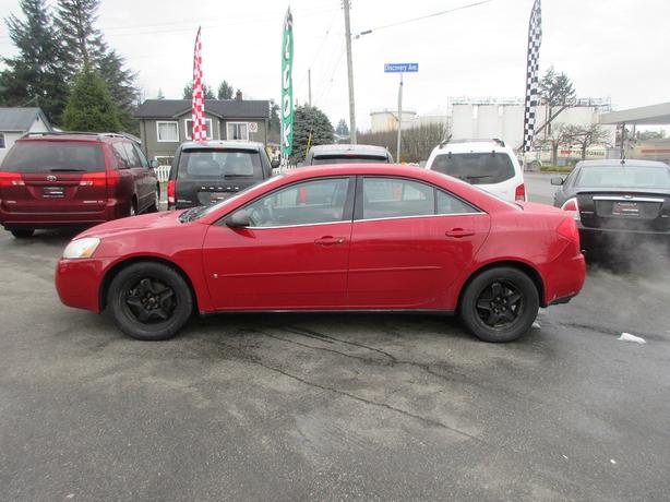 ON SALE! 2007 PONTIAC G6 3.5L V6 AUTO-GOOD M+S TIRES! WELL EQUIPPED!
