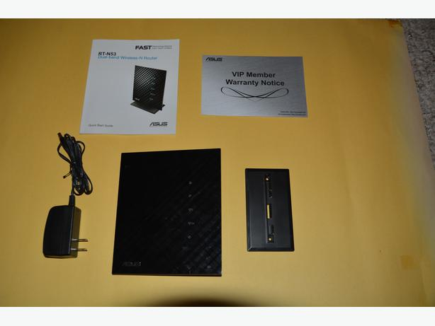ASUS RT-N53 Dual-Band Wireless-N600 Router