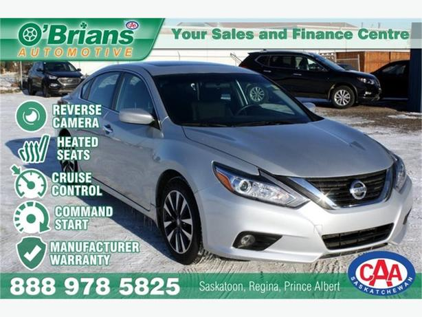 2017 Nissan Altima 2.5 SV w/Mfg Warranty