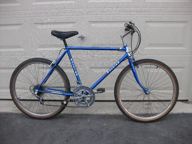 Blue Raleigh 12-speed