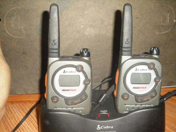 Cobra hand held 2 way radios for sale