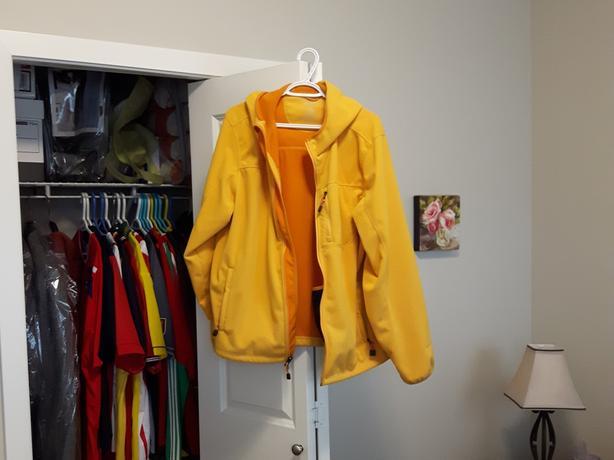 LL Bean fleece zip hoodie