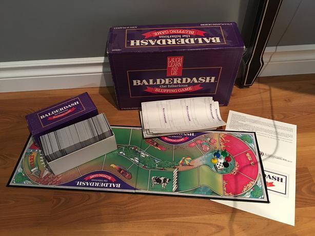 """Board Game - """"Balderdash"""""""