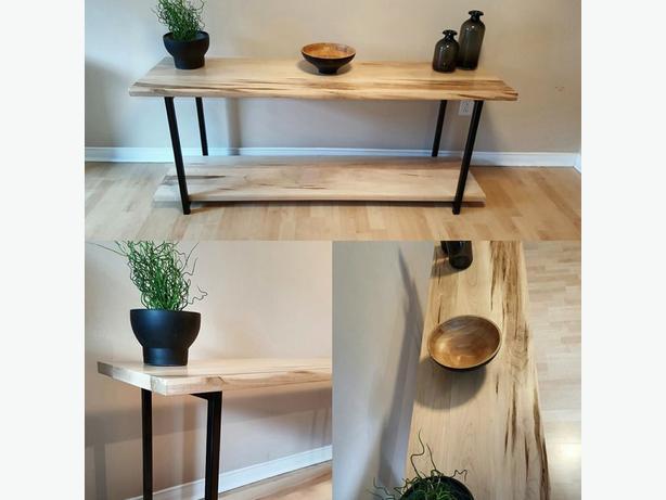 Solid Maple Wood Shelf - TV Stand - Book Shelf