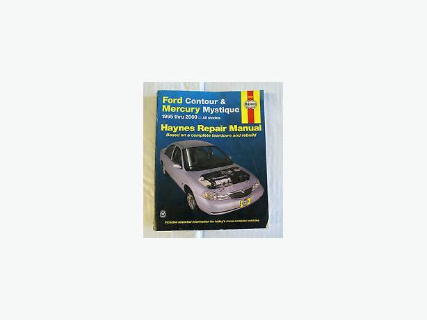 mystique ford car or contour 1995 -2000