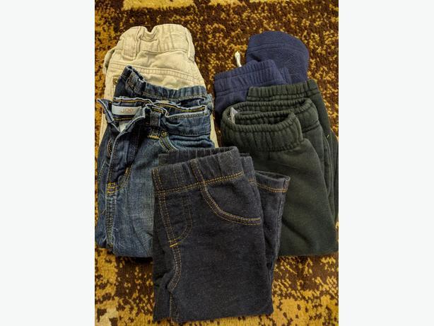 2T toddler pants x 5