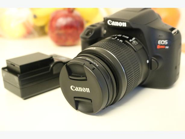 Canon Rebel T6 DSLR Camera w/ 18-55mm lens & Extra Battery