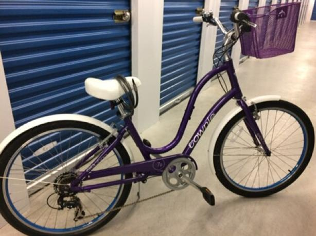 Electra Townie Ladies Bike + 2-bike rack