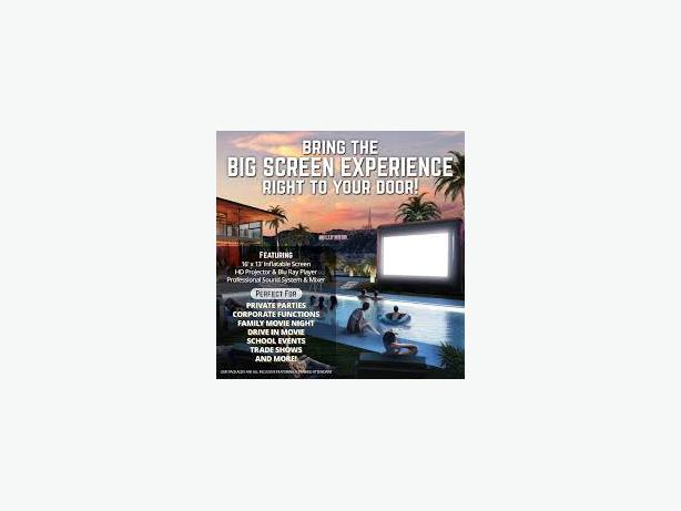 Kelowna Giant Movie Screen Rentals