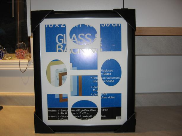 NEW & UNUSED 16 x 20 or 41 x 51 cm  Collage Photo Frame with Mat & Glass Front
