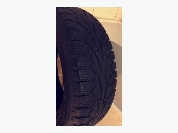 "4 Barely Used HANKOOK 16"" WINTER TIRES"