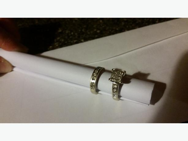 Beautiful Wedding & Engagement ring package