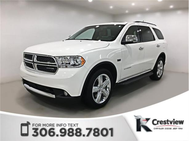 2012 Dodge Durango Citadel 4WD | Leather | Sunroof | Navigation
