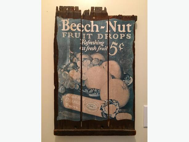 Antique Advertising Barnwood pictures