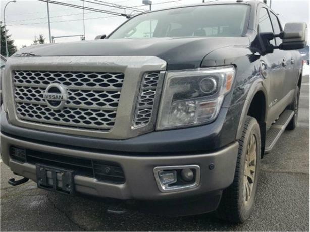 2016 Nissan Titan XD Platinum Reserve Diesel