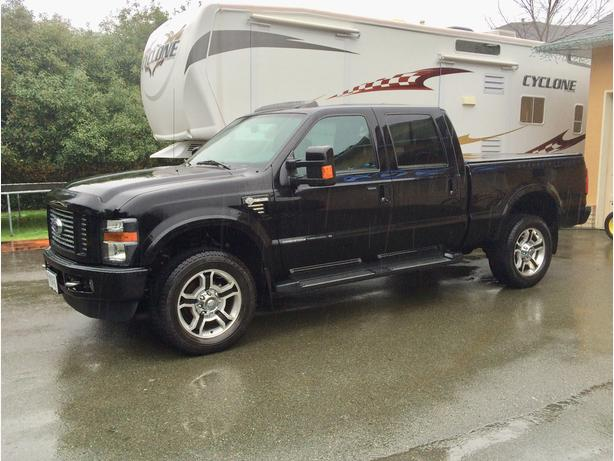 """2010 ford f350 harley davidson   7"""" icon vehicle dynamics co…   flickr."""