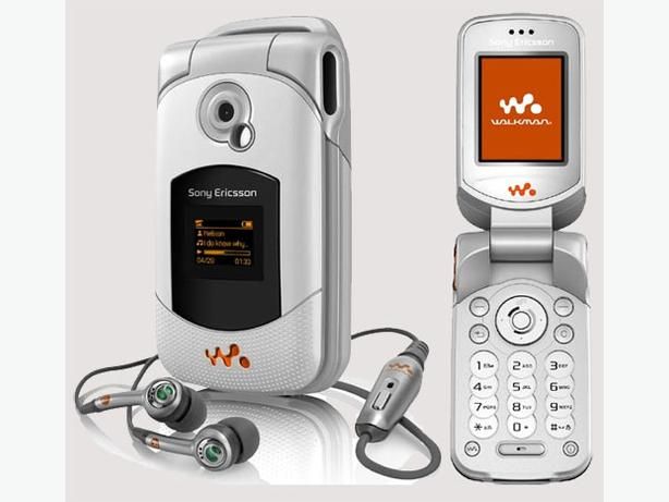 Fido Sony Walkman Music Phone + Speakers