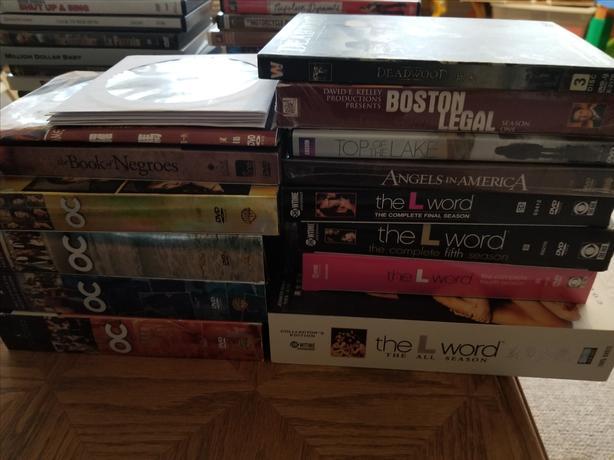 8 DVD Series