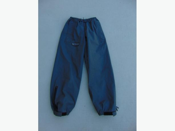 Rain Pants Child Size 7-8 Wetskins Grey