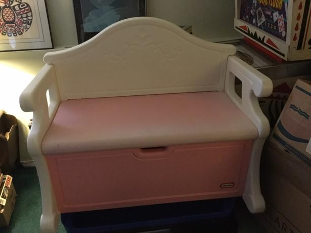 Little Tikes Victorian Toy Storage Chest Bench