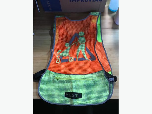 Reflective vest for child minding