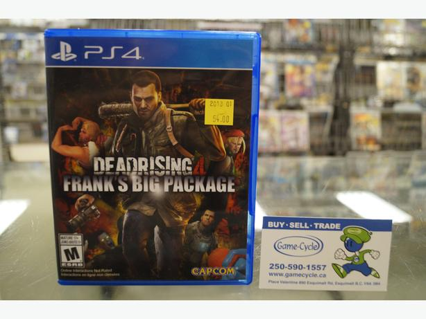 Dead Rising 4 Frank's Big Package for PS4 Available @ PS4