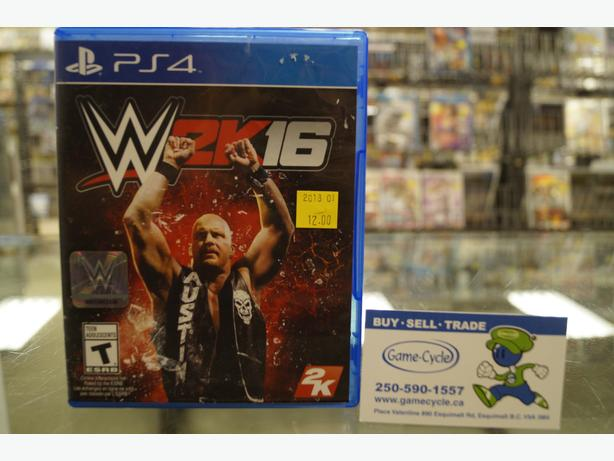 WWE 2K16 For Playstation 4 Available @ Game Cycle