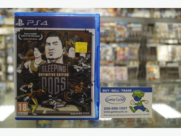 Sleeping Dogs Definitive Edition for PS4 Available @ Game Cycle
