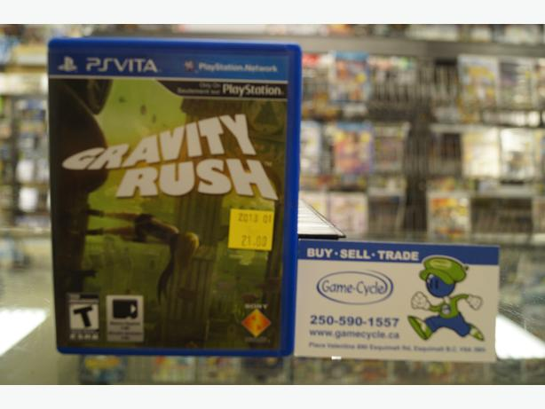 Gravity Rush for PS Vita Available @ Game Cycle